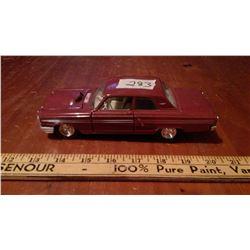 1964 Ford Fairlane Thunderbolt Scale 1/24 Metal Diecast Model
