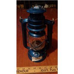 Blue Barn Lantern
