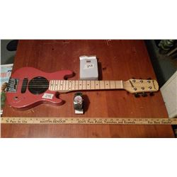 Barswood Battery Operated Musical Guitar W/ Dodge Demon Watch