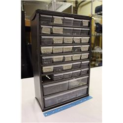 Holt 9 Shelf Tool Box w/A Large Assortment of Screws&Nails