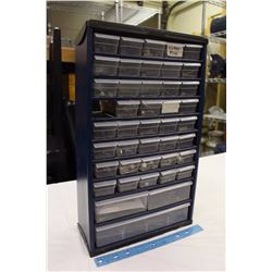 Holt 10 Shelf Tool Box w/ A Large Assortment of Screws&Nails