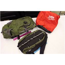 Outdoor Hiking/Camping Bags(3)(Dry Sac, Mountain Equipment Co, Unknown)