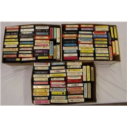 Lot of 8 Tracks