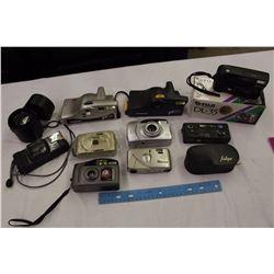 Lot of Digital Cameras