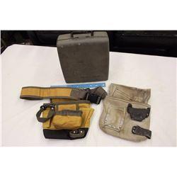Tools Belts (2)& A Black&Decker Drill