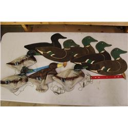Lot of Duck Decoys