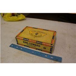 Cigar Box Full w/Advertising Openers, Belt Buckles)