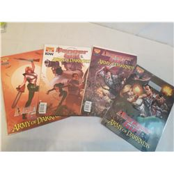 Comics: Danger Girl of Darkness, Dynamite (#1, 2, 3& 4)(Unopened)