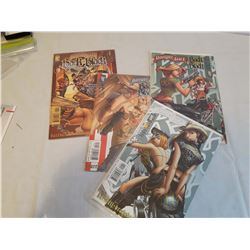 Comics: Danger Girl (#1 of 4, #2 of 4, #3 of 4& #4 of 4)(Unopened)