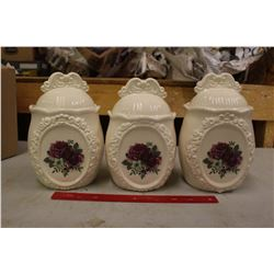 Ceramic Cookie Jars (3)