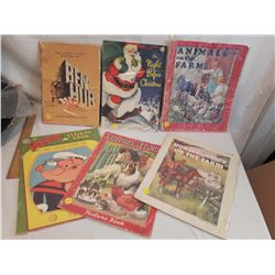 Children's Books (Printed 1936,1937,1939&1957 Making of Ben-Hur)