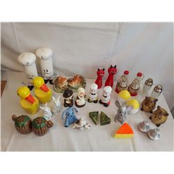 Sets of Salt & Pepper Shakers (16 Sets)