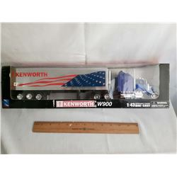 Kenworth W900 Die Cast Truck & Trailer