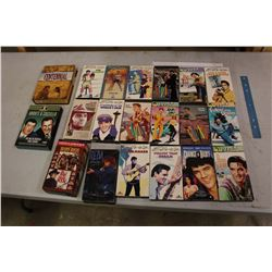Lot Of VHS Tapes, Lots Of Elvis, Some DVDs