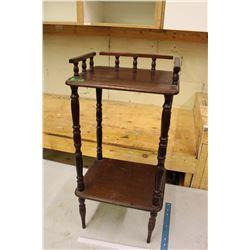 Vintage Wooden Nightstand