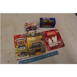 Small Toy Vehicles (5)(NIB)