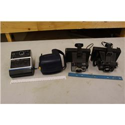 Vintage Polaroid Cameras (4)