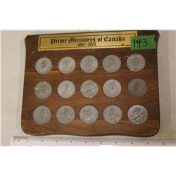 Prime Minister Coin Set