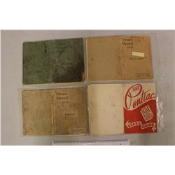1940&1941 Chevrolet Owners Manuals&1941&1948 Pontiac Owners Manuals