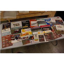 Assorted Shortline Farm Implement Brochures