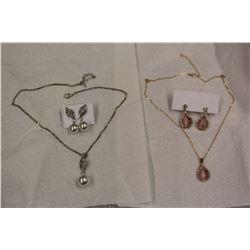 Moonstone & Pearl Sets (2)