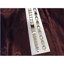 Stainless Steel Bracelets (2)(Engravable)