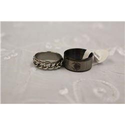 Stainless Steel Rings (2)