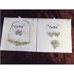 "2 ""Coro"" Sets (Marked 1950s)"