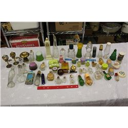 Lot of Assorted Vintage Perfume Bottles