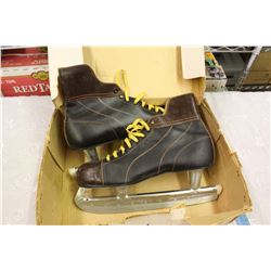 Vintage Mens Figure Skates (Athletic Shoe Co.)