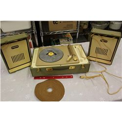 Vintage Stereo Record Player