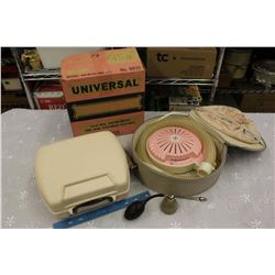 Vintage General Electric Hair Dryer, Universal Nail Polish Dryer, Etc
