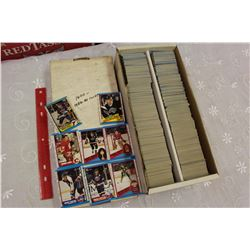 Lot of 1,600 – 1989-90 O-Pee-Chee Hockey Cards; Theoren Fleury Rookie Card