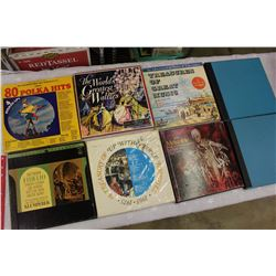 Lot of 8 LP Collections