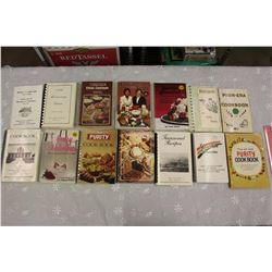 Lot of Cook Books