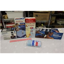 Lot of Misc (Heating Pads, Power Massage, Ice Pack, Etc)