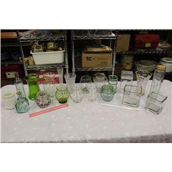 Lot of Vintage Glassware