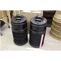 2 Defender Room&Air Cleaners (Product of Health-Mor)(Working)