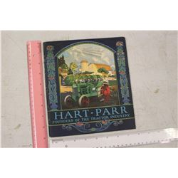Vintage Hart Parr Advertising Book