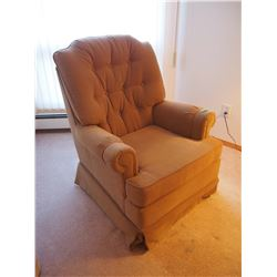 Light Brown Arm Chair, LIKE NEW