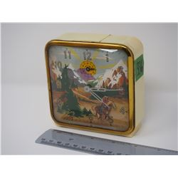 The Western Ingram Novelty Moving Horse Wind Up Clock (Working)