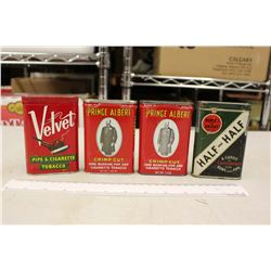 Pocket Tobacco Tins (4)