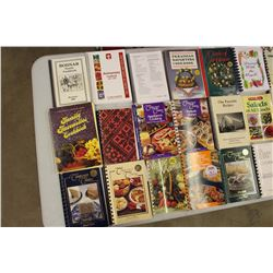 Huge Lot of Cook Books