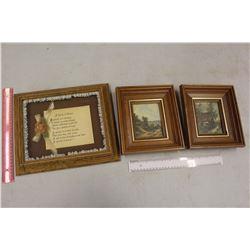 Framed Pictures (3)
