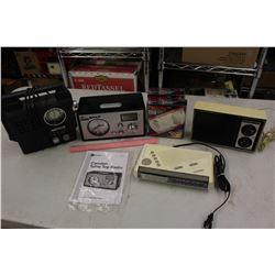 Radios (3)& Dicon Smoke Alarms (2)