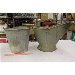 Coal Pails (2)(1 Marked CN)