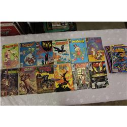 Collection of Old Comic Books