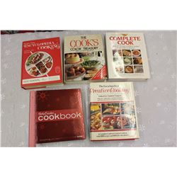 Lot of Cook Books (5)