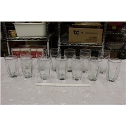 Lot of Matching Glasses (Cups)