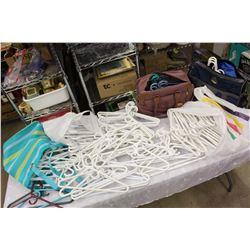 Huge Lot of Plastic Hangers